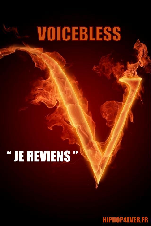 VOICEBLESS JE REVIENS HH
