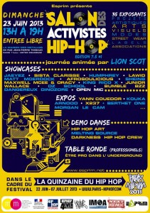 Salon des Activistes HH - Paris HH [Bon Plan]
