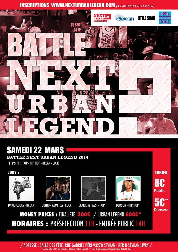 Affiche Battle Urban Legend FR