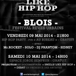 SMELLS LIKE HIP HOP PARTY @ BLOIS [Soirée et plus]