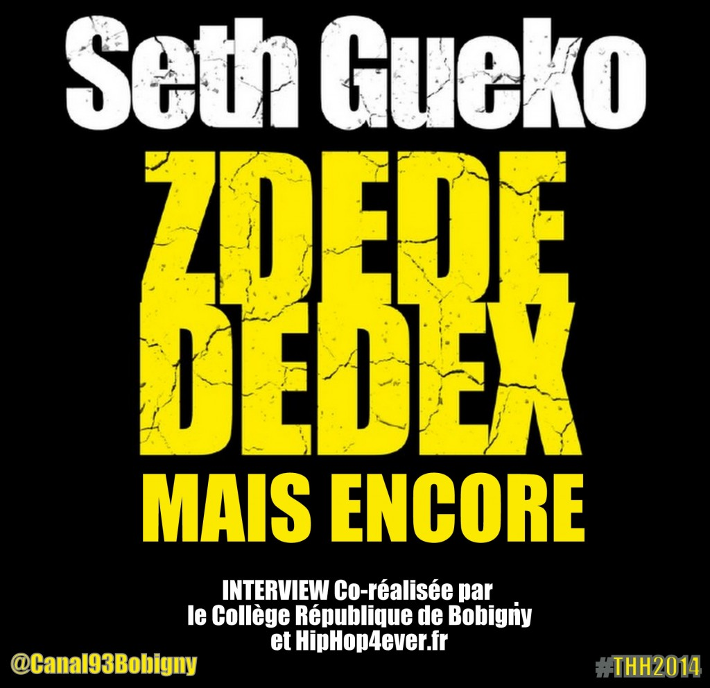 Seth Gueko - Intw