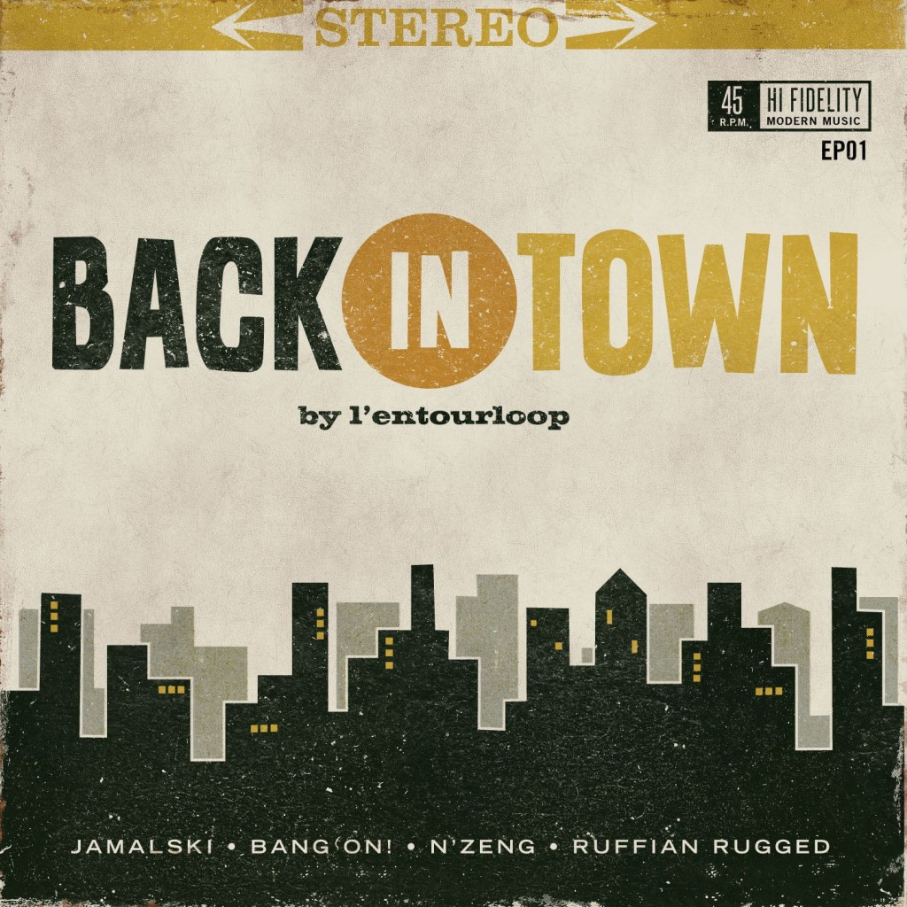 Entourloop_Cover_BackinTown