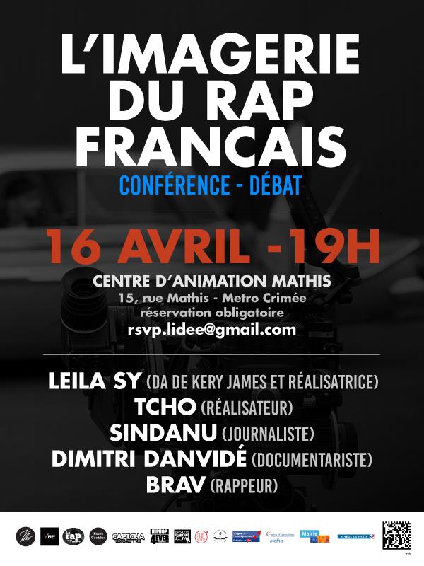 L'imagerie du rap fr - affiche